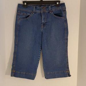 Bandolinoblu Denim Bermuda Length shorts